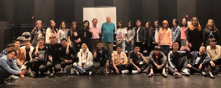 2018春季北京空乘专业大学生赴 BARSTOW 接受 Allied Heath 训练