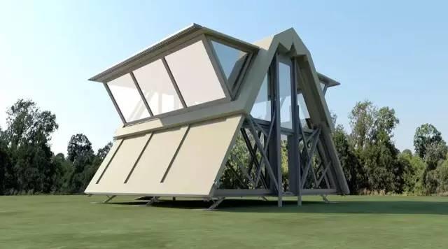 英国 Ten Fold Engineering 制成多功能模块化折叠移动箱房