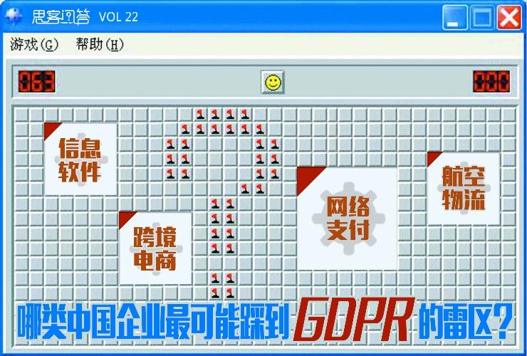 """薛笔犁 & 周佳苗:""""最严数据法""""GDPR展露利齿,哪类中国企业容易""""踩雷""""?"""