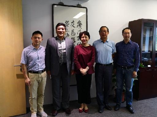 王方律师、姜镇英教授应邀访问上海侨办、上海外事委员会和欧美同学会
