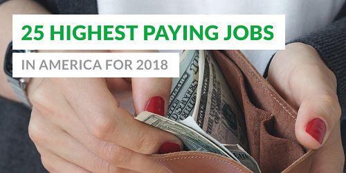 CBS:全美薪酬最高的25个工作