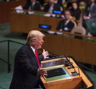 特朗普9月25日联合国大会演讲全文(中译本)