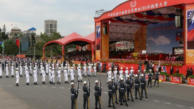 美国之音:海外华人去台湾庆双十 难再获中国签证
