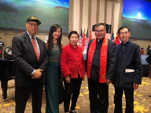 张平总领事举办2019年新春招待会