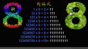 数学的魅力当真无穷:神奇的缺8数