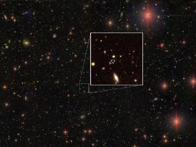 在130�|光年外,�l�F100���|量比太�大100�f倍以上的黑洞