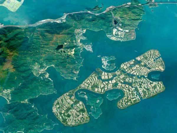 """香港将拨6240亿港元填海造岛 - """"明日大屿"""""""