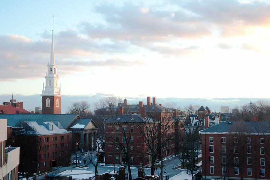 访学哈佛大学