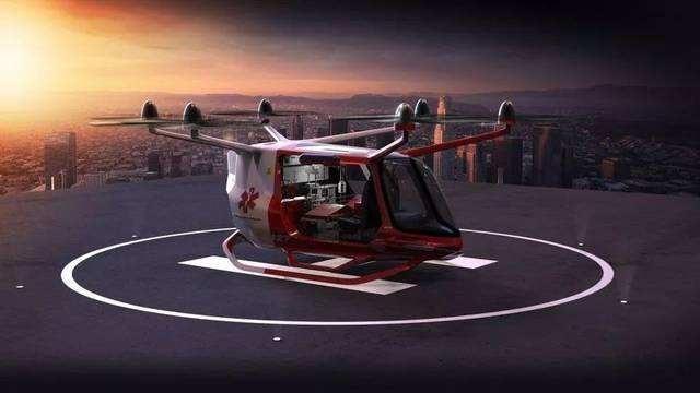 美国阿拉卡科技公司设计出氢电池驱动的Skai六旋翼概念飞行车