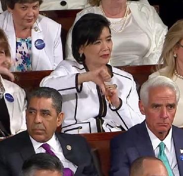美国国会华裔众议员赵美心:美籍华裔不能做种族定性的牺牲品